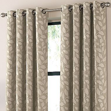 Cindy Crawford Style Sonoma Print Drapery Panel Jcpenney In Weatherfield Moss Saw These