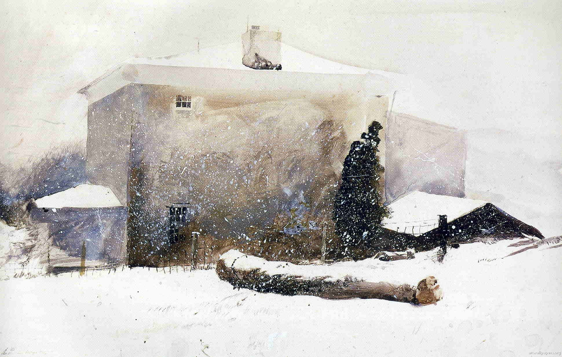 Andrew Wyeth | First Snow