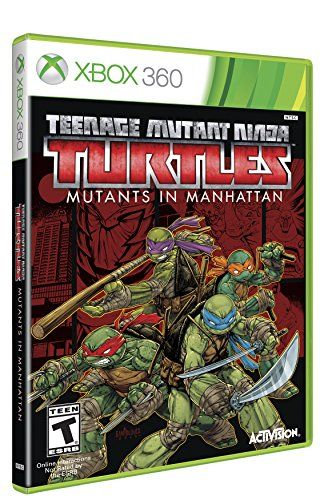 Teenage Mutant Ninja Turtles Mutants In Manhattan Xbox 360 Click Image For More Details Note It Is Affiliate Link To Amazon