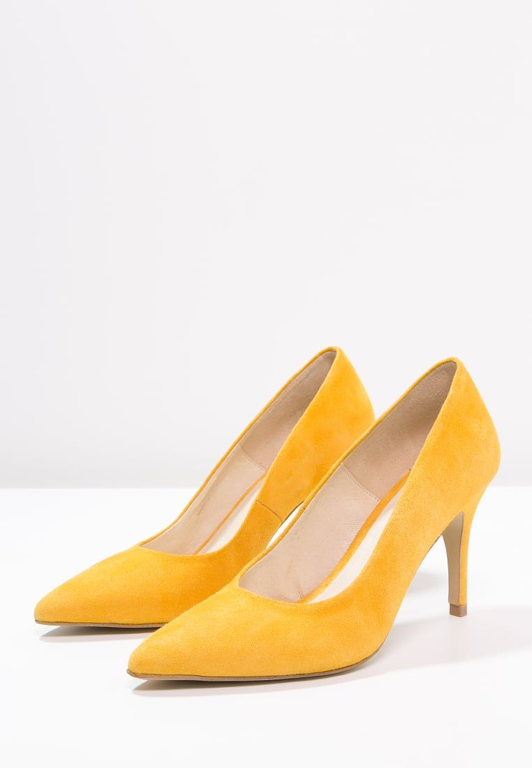 zign high heel pumps - yellow - zalando.de | gelbe schuhe