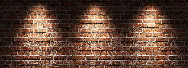 الطوب مواد البناء وال الاسمنت الخلفية Brick Wall Background Brick Wall Lights Background