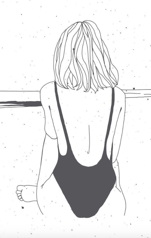 Outlines Com Imagens Ilustracao Preto E Branco Desenhos