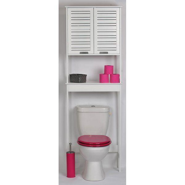 Miami 24 8 W X 70 5 H Over The Toilet Storage Meuble Haut Salle De Bain Meuble Wc Meuble Toilette