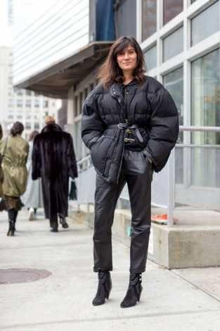 Daunenjacke oversized pufferjacket street style trend way we