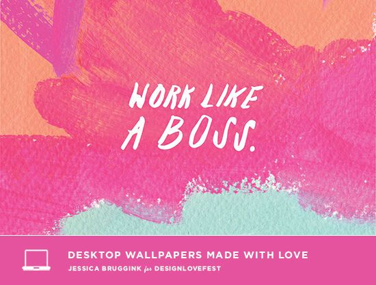 Work like a boss free background wallpaper designlovefest x work like a boss free background wallpaper designlovefest x jessica bruggink thecheapjerseys Image collections