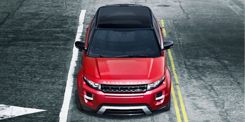 Evoque Dynamic In Firenze Red With Black Contrast Roof In Another Life Maybe