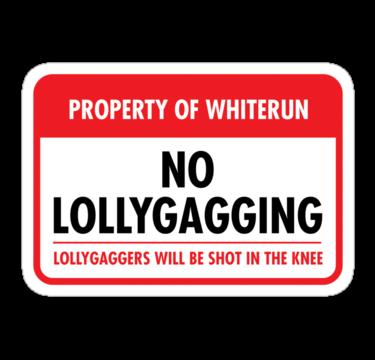 Whiterun Municipal Ordinance (Sticker)