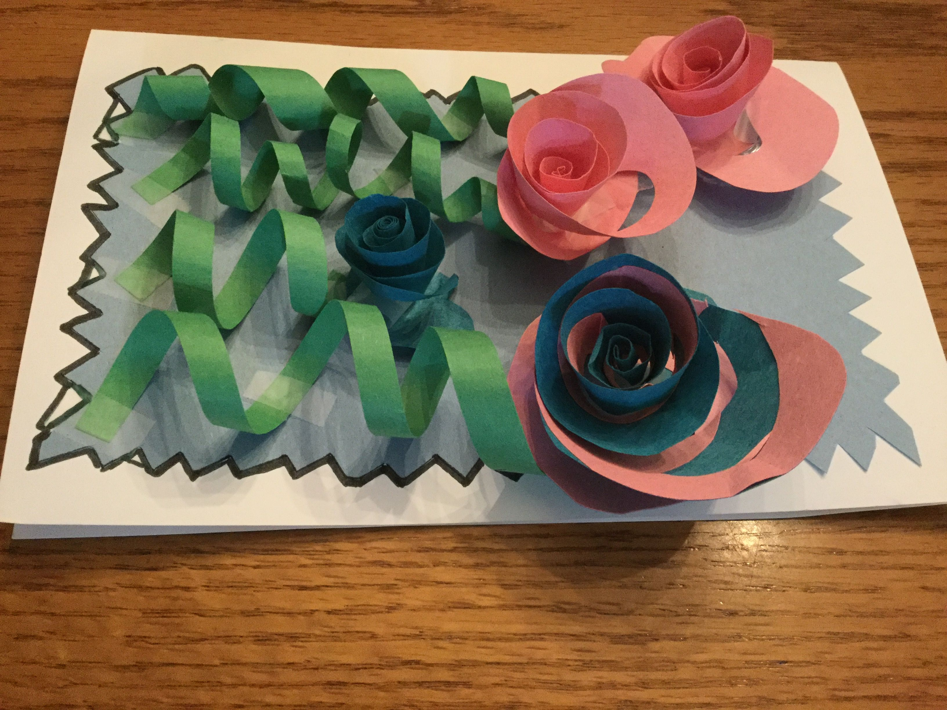 Really easy and really neat paper flowers.