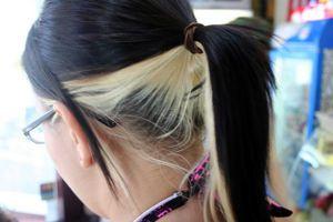 Dark On Top Blonde Underneath Blonde Underneath Hair Hair Inspiration
