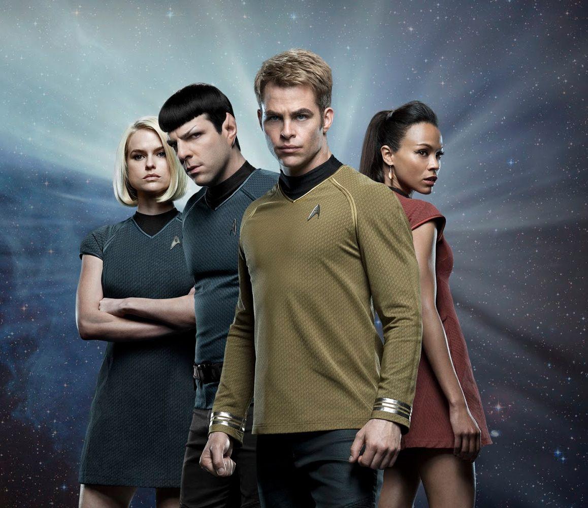Kirk, Spock, Uhura, Marcus   Star trek beyond, Star trek, Star ...
