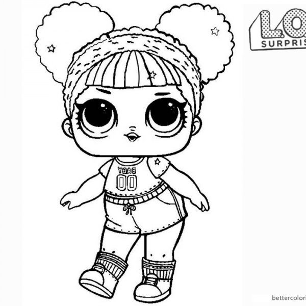 Lol Surprise Coloring Pages Super Bb Glitter Free Printable Coloring Pages Kitty Coloring Lol Dolls Mermaid Coloring Pages