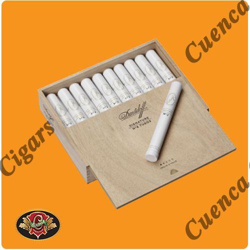 Davidoff Signature No. 2 Tubos Cigars - Box of 20 - Price: $349.90