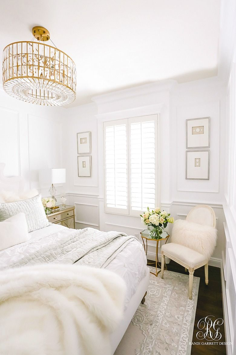 Glam guest bedroom makeover for the home pinterest guest