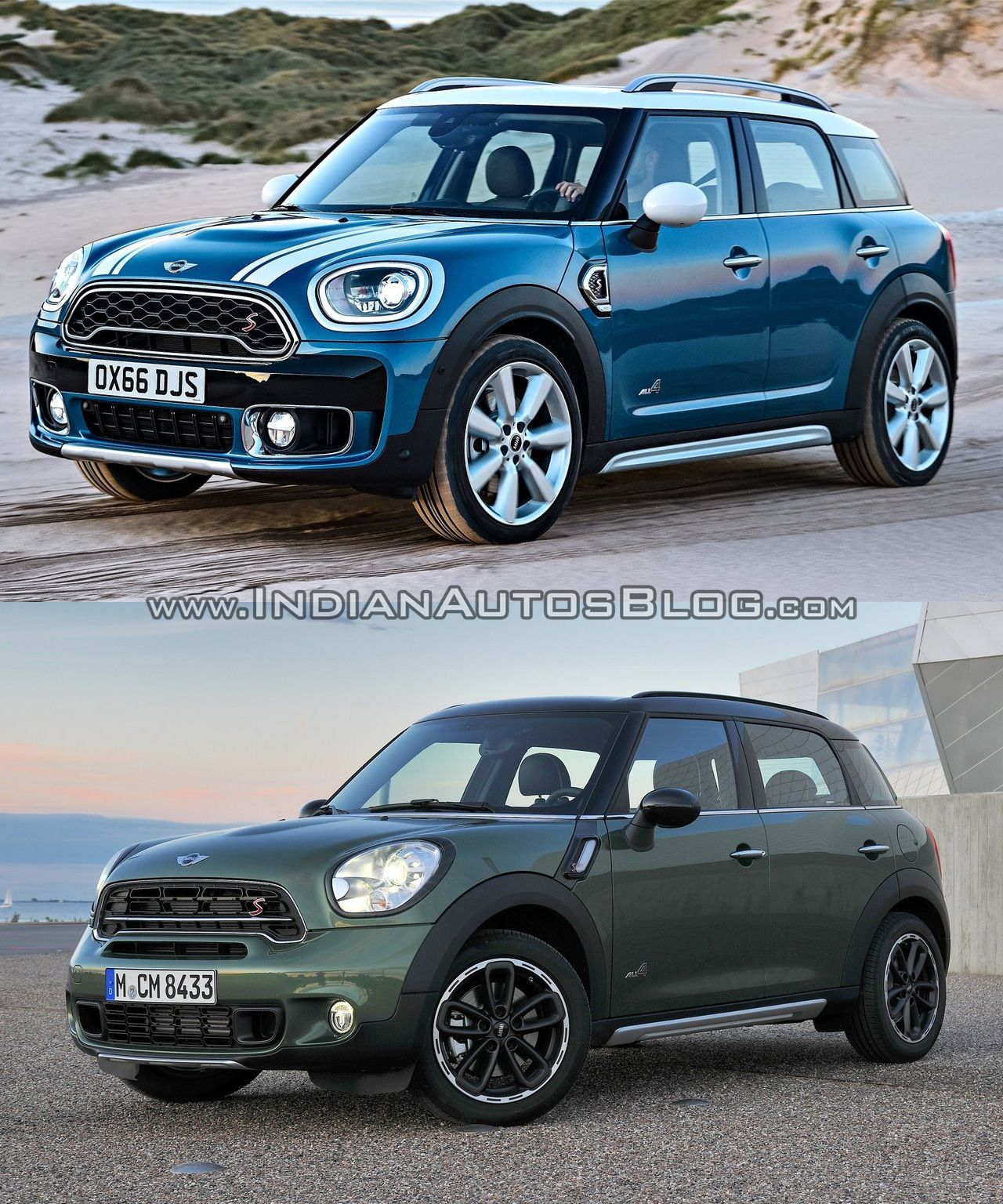 2017 mini countryman vs 2014 mini countryman old vs new cars daily updated pinterest. Black Bedroom Furniture Sets. Home Design Ideas