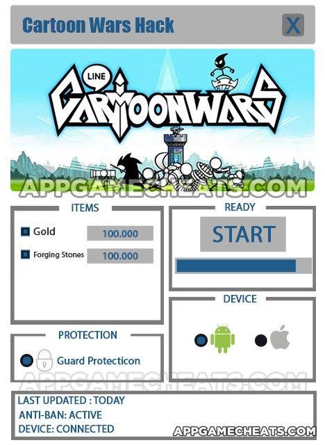 cartoon wars blade mod apk unlimited gold & gems hack