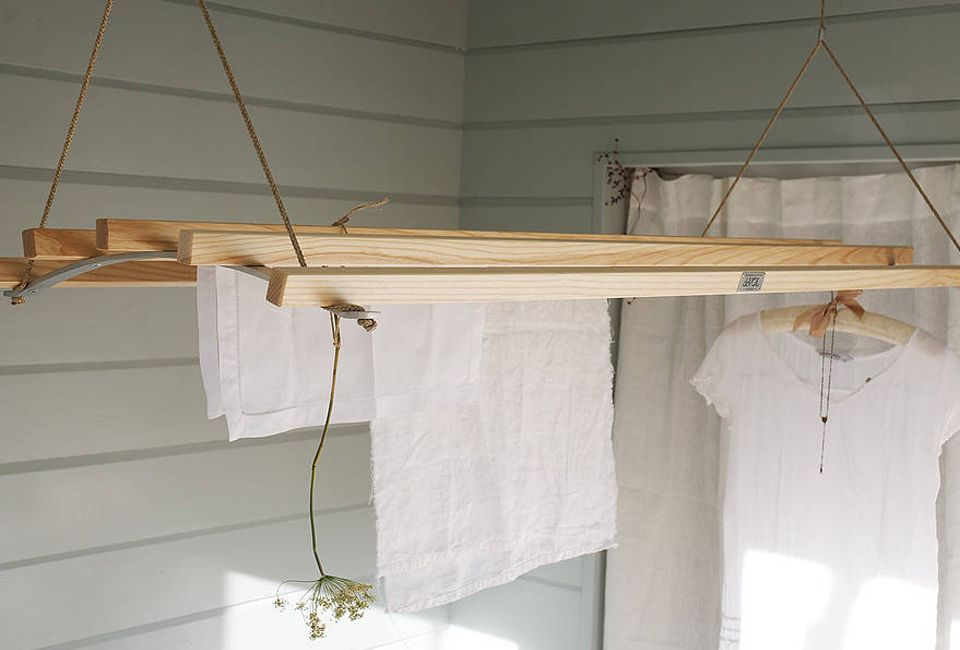 10 Easy Pieces Wooden Laundry Racks Laundry Rack Clothes