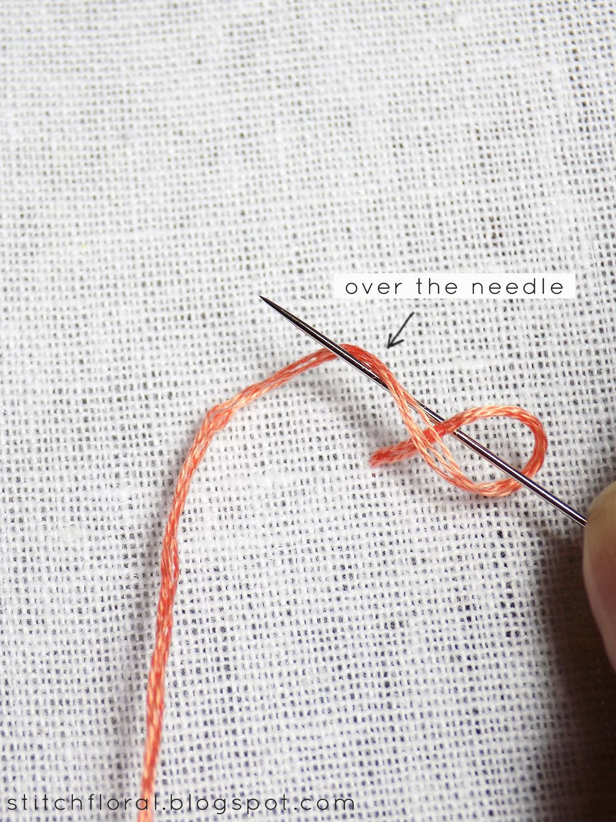 Colonial knot and how\'s it different from french knot? | PUNTOS ...