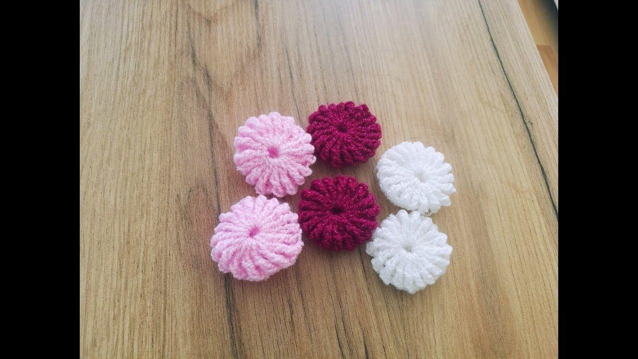 No 200 Kwiatek Na Szydelku Yo Yo Crochet Flower Simply And Fast Crochet Flowers Crochet Yo Yo