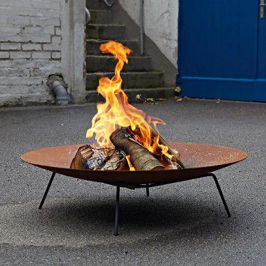 Feuerschale Feuerstellen im Garten Pinterest Feuerschale - feuerschale im garten