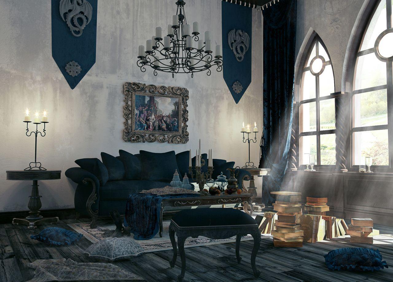 Gothic Interior Design Ideas   Internal Decoration Design ...