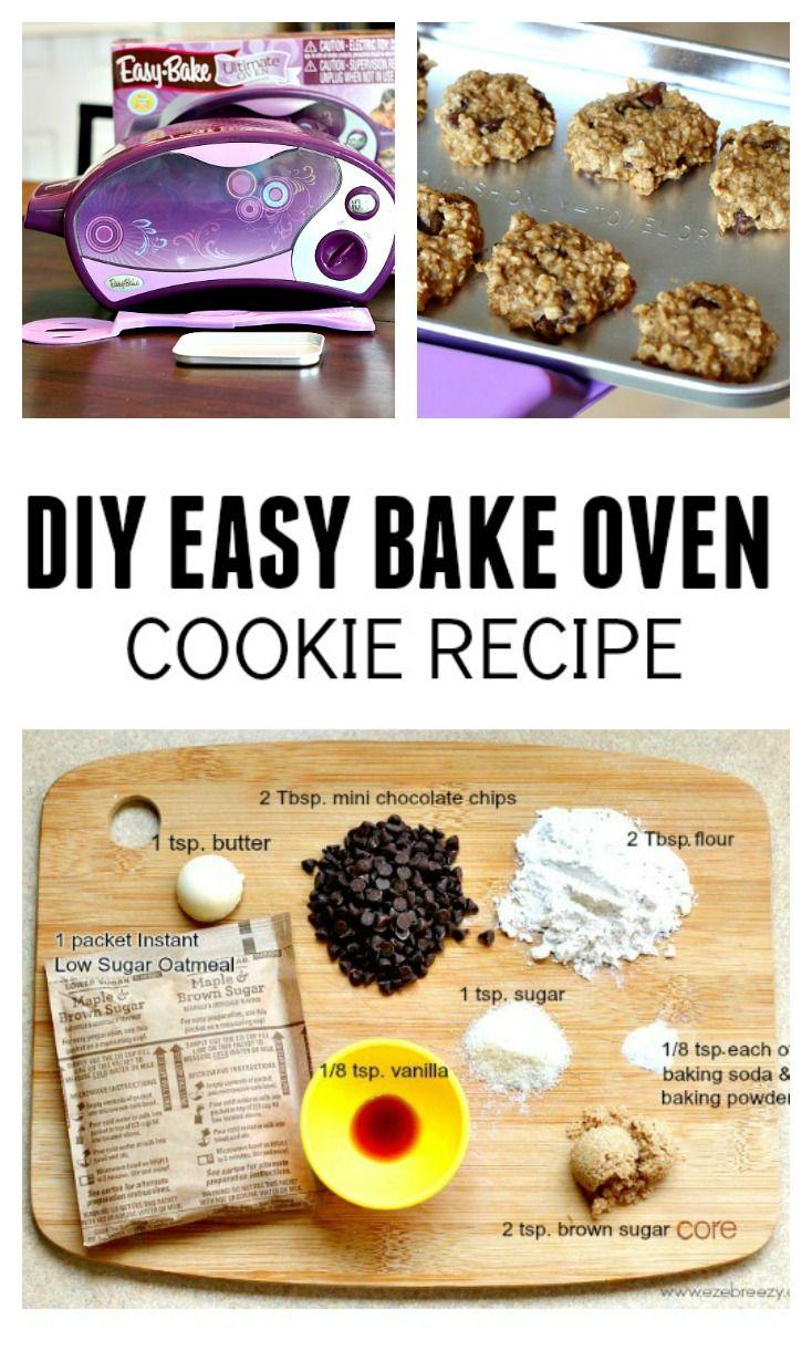 Easy Bake Oven Cookie Recipe P Easy Bake Oven Mixes Easy Baking Easy Baking Recipes