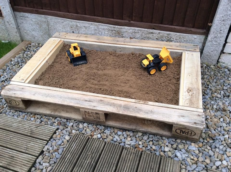 Sand Pit Made From Pallets Outside Pinterest Outdoor