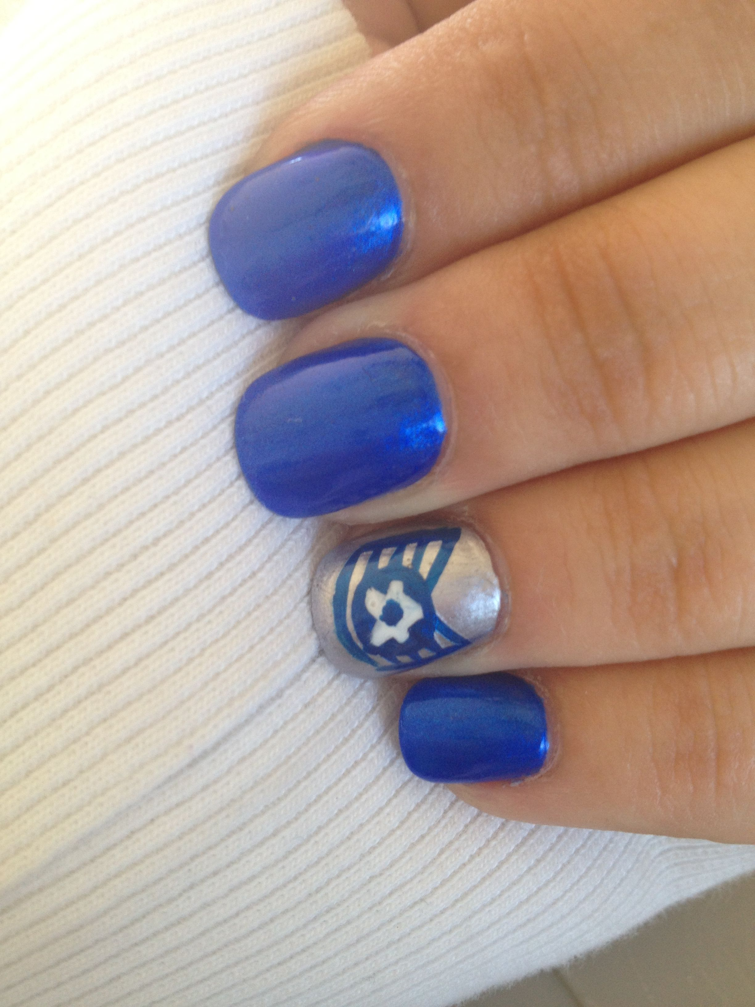 Air Force themed nails this time! Military nails, Nails