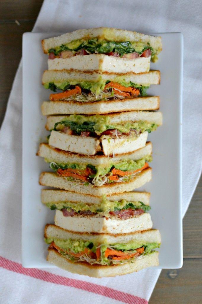 Ultimate Vegan Club Sandwich 2
