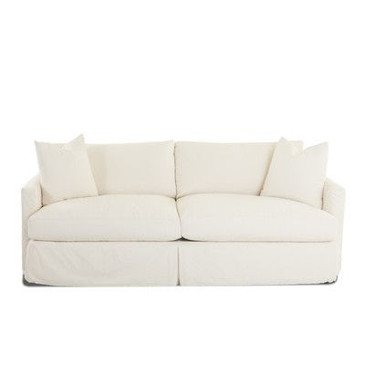 Wayfair Custom Upholstery Madison XL Slipcovered Sofa Upholstery:  Sunbrella® Meridian Wisteria