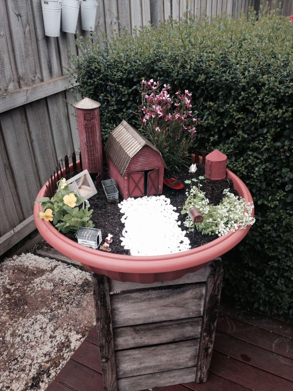 Miniature Fairy Garden Farm....