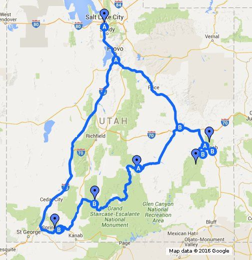 Mighty 5 itinerary from Salt Lake City to Arches, Canyonlands ... on zion lodge rooms, grand canyon map, zion wildlife, zion flood, zion arizona, new mexico arizona california map, zion ut, zion campgrounds, grand staircase escalante national monument map, st george arizona map, zion temple mount, zion park lodge, zion trails, zion hikes, mt wilhelm map, zion cave, zion hiking, zion cabin rentals, zion name, zion river,