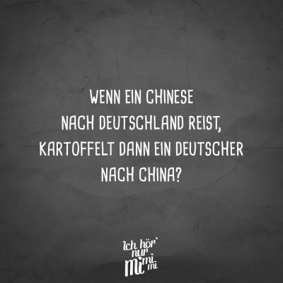 VISUAL STATEMENTS® Visual Statements® Wenn ein Chinese