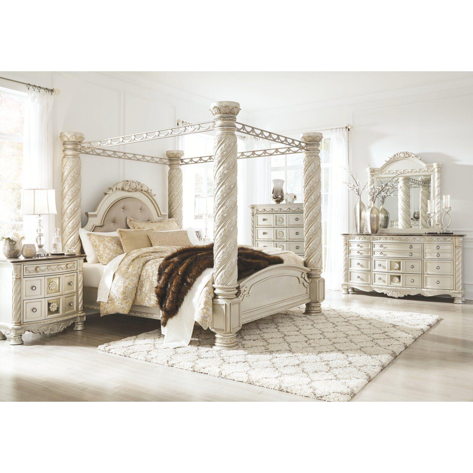 Cassimore Canopy Bedroom Set Signature Design 3 Reviews: Astoria Grand Petry 9 Drawer Double Dresser