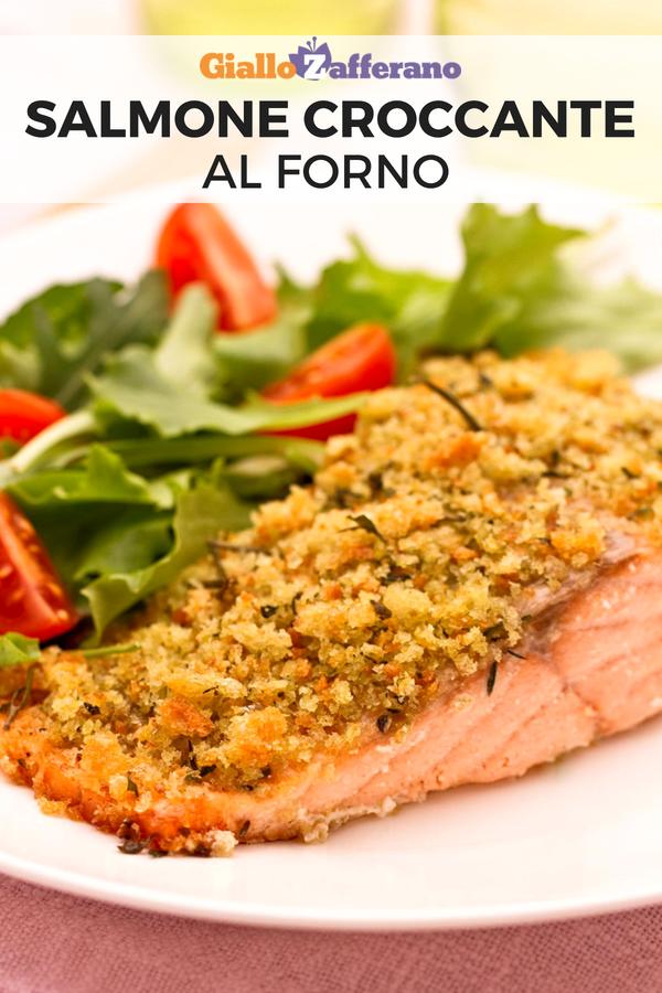 Salmone Croccante Ricetta Nel 2019 Secondi Piatti Salmon