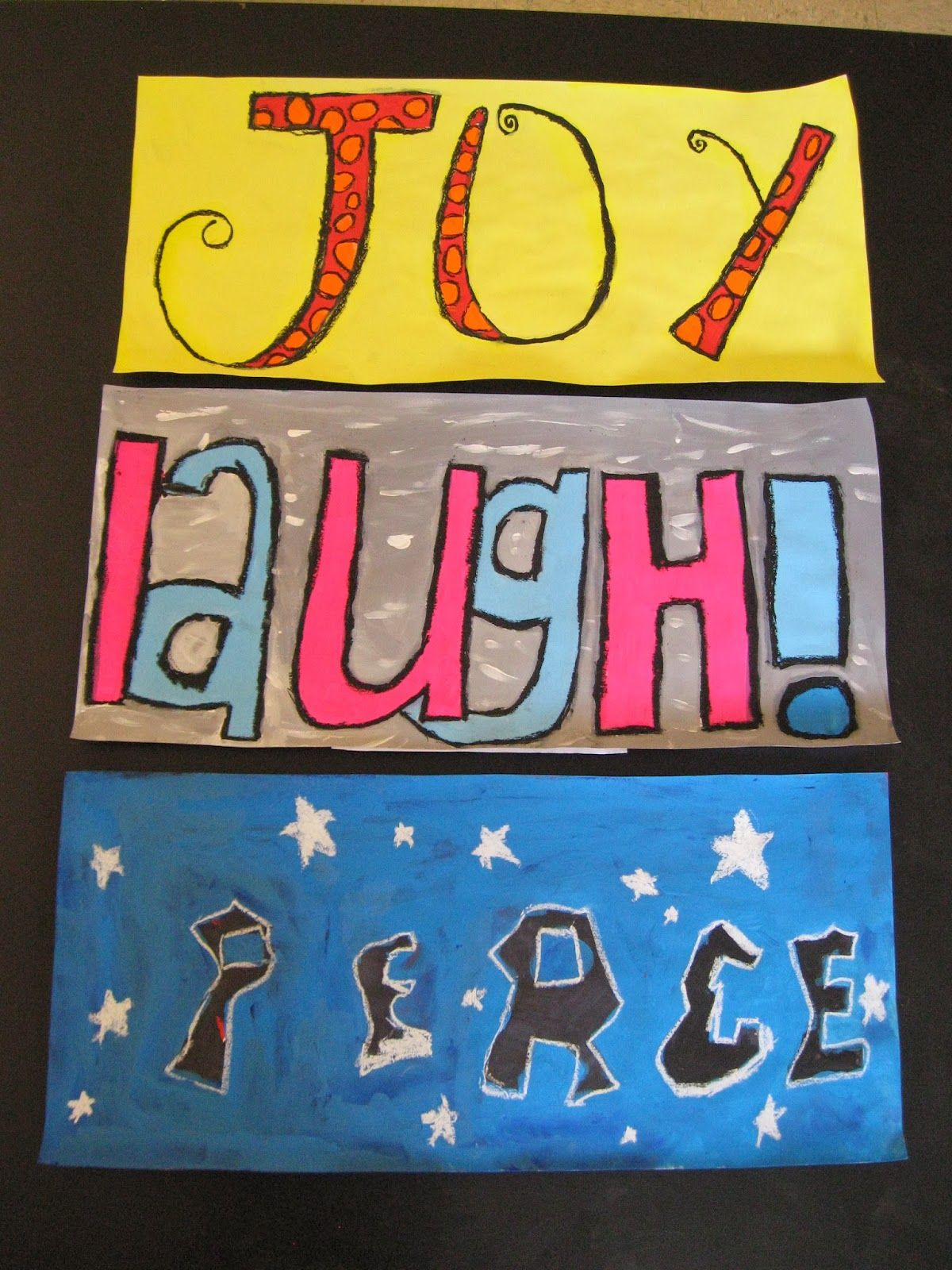 Jamestown Elementary Art Blog Reporting 4th Grade Graphic Design Lettering