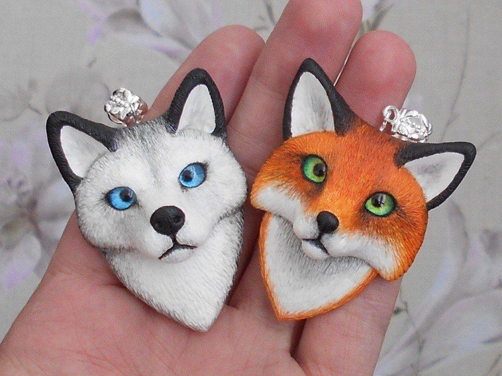 Картинки полимерной глины животных