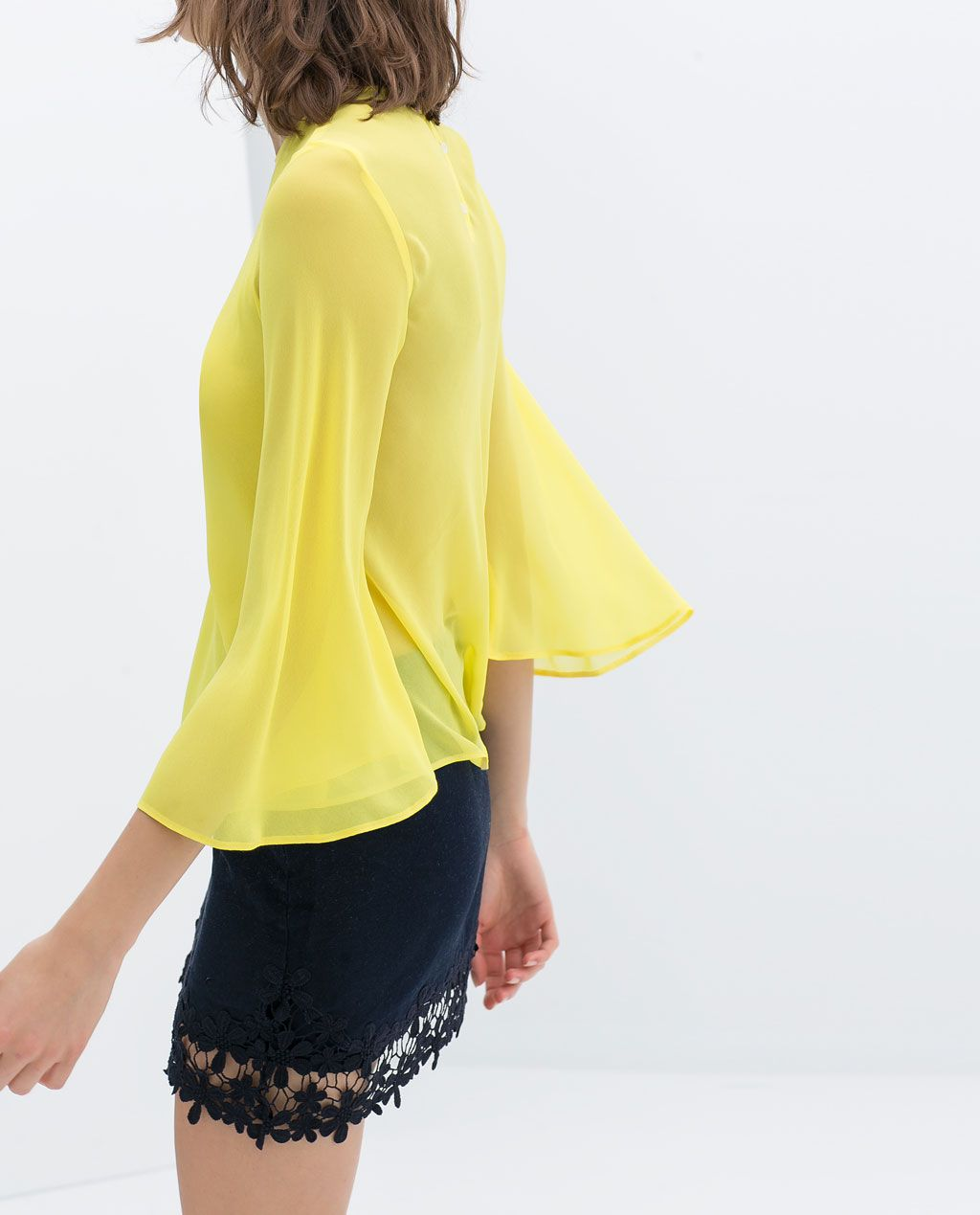 ZARA - NEW THIS WEEK - TOP WITH FULL SLEEVE