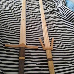 Giocattolo pirati Cutlass spada di legno fatti a mano