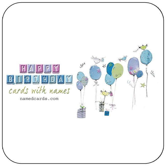 Personalized Birthday Cards With Name For Facebook