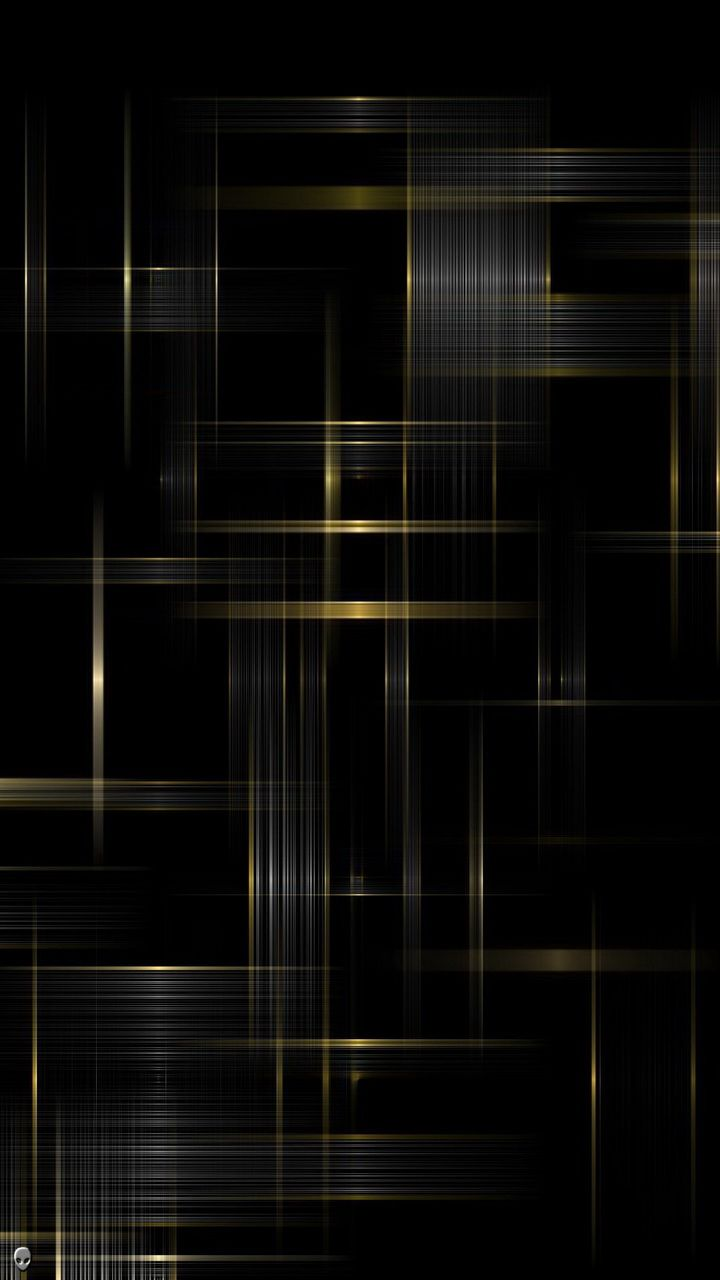 Black And Gold Galaxy S Wallpapers