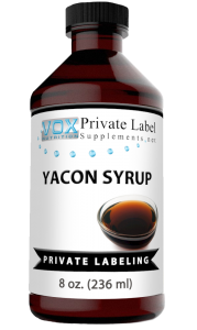 Private Label Yacon Root Syrup Liquid Supplement   Vox Nutrition