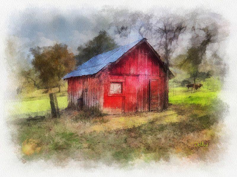 Badger Red Shed | Flickr - Photo Sharing!