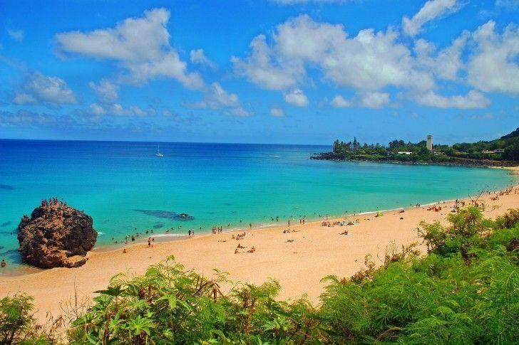 Hawaii Desktop Waimea Bay Oahu Hawaii Beach Desktop