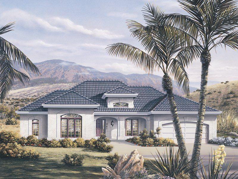 3 Bedroom 2 Bath Ranch House Plan Alp 09e3 Florida House Plans Mediterranean Style House Plans Mediterranean House Plans