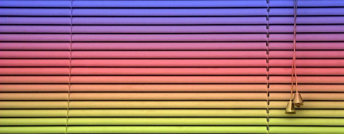 Rainbow blinds Vinyl blinds, Vinyl mini blinds, Aluminum