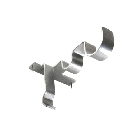 Double Center Support Curtain Rod Bracket Hanging Curtain Rods