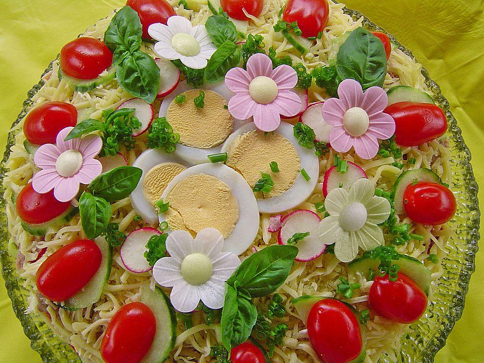 Party Salattorte In 2019 Geburtstag Pinterest Party Salad
