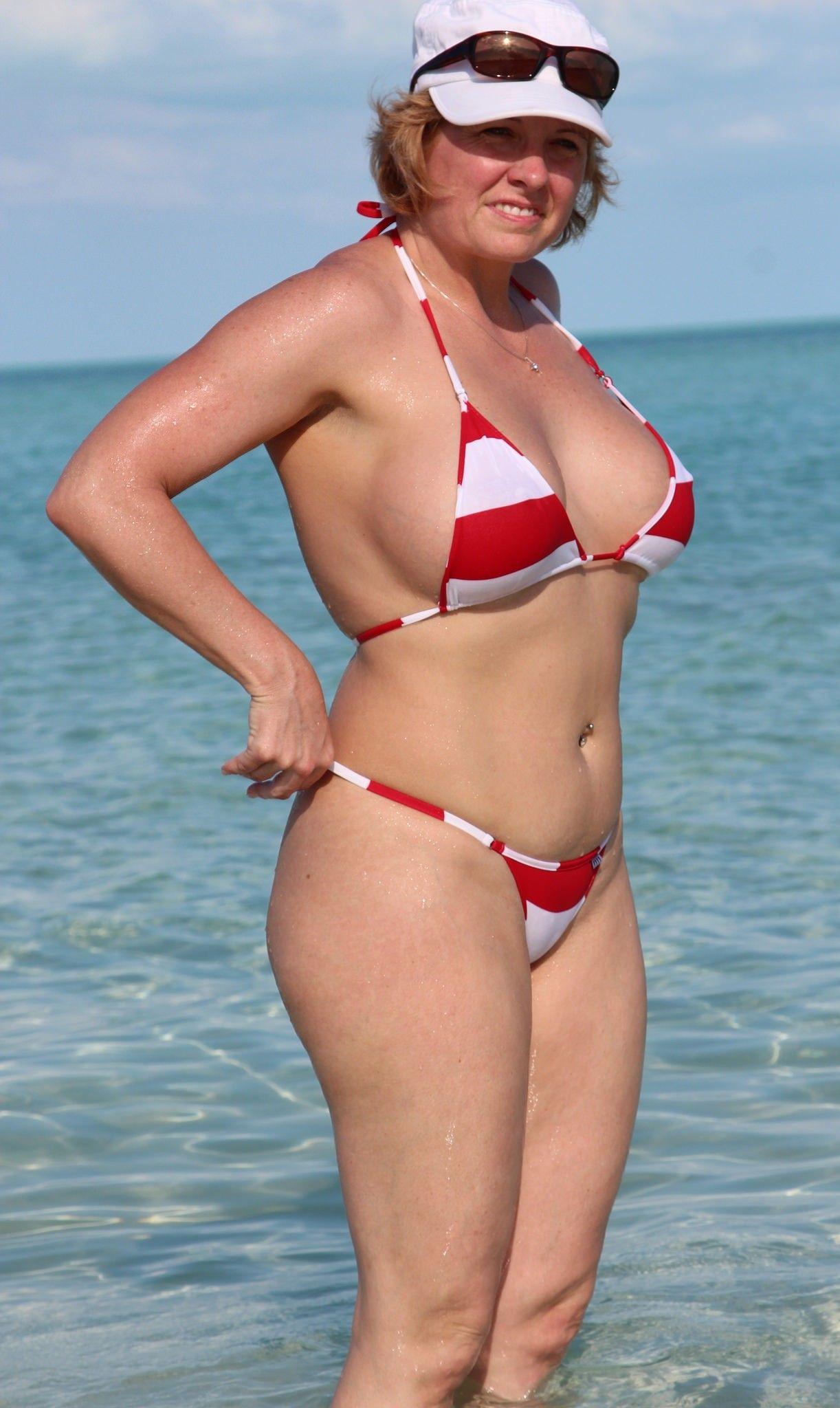 Great Posture  Swim  Bikini Girls, Bikinis, Sexy Older -6517
