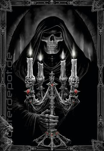 Candle such skeleton image