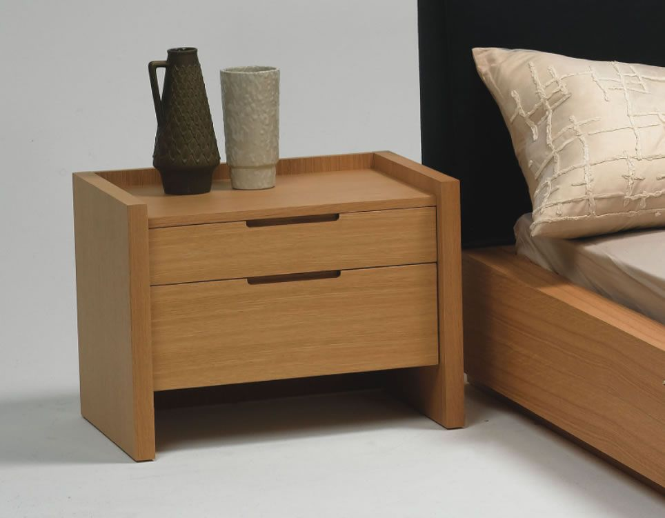 Bedside table designs home design for Modern end table ideas